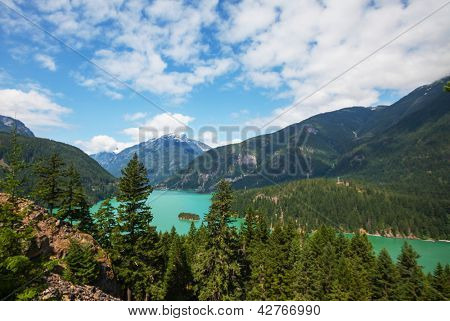 Diablo Lake,Washington