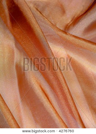 Orange Shiny Cloth