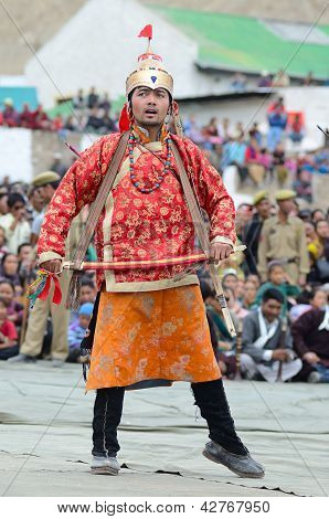 Artist On Festival Of Ladakh Heritage