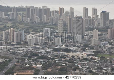 Honolulu, Oahu in Hawaii