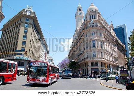 downtown Buenos Aires, Argentina