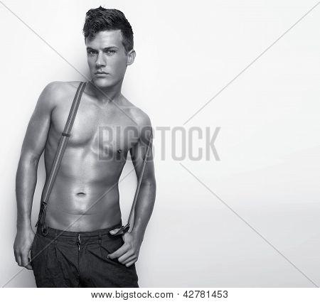 Shirtless Sexy Man
