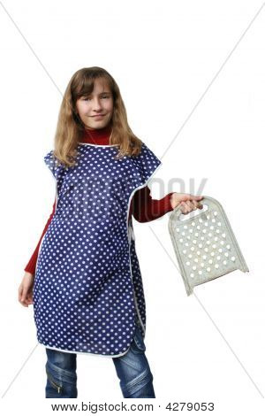 Girl With Grater