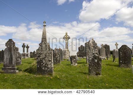 Old Ancient Celtic Graveyard