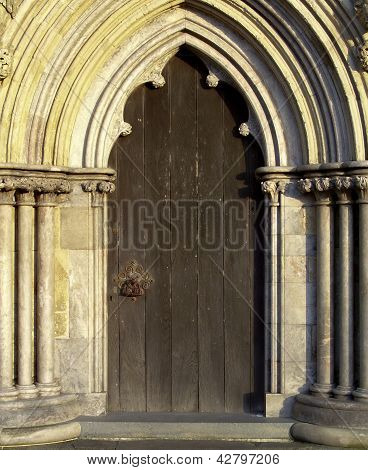 Porta de Catedral de Salisbury