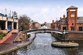 image of west midlands  - Birmingham water canal network - JPG