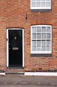 picture of west midlands  - Black door - JPG