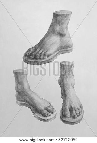 Detail Of David Foot