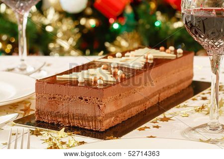 Christmas Dessert On Table