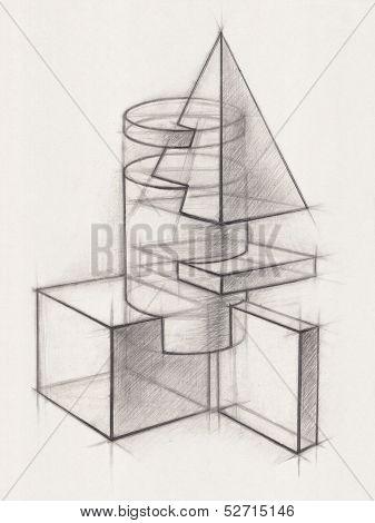 Solid Geometric Shapes