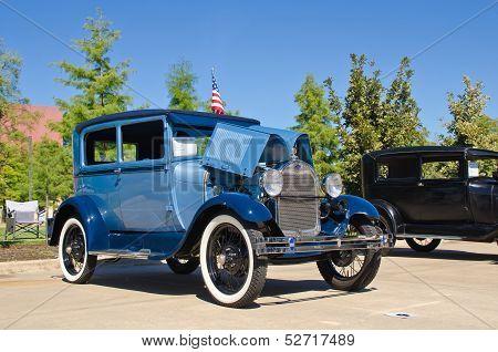 1928 Ford Model A/AR Tudor Sedan