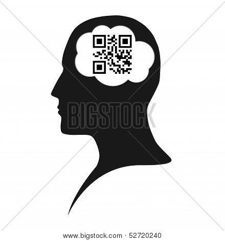 Qr code brain