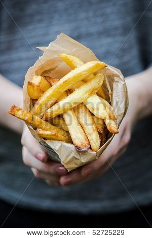 Freshly Baked French Fries