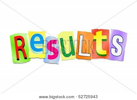 Results Concept.