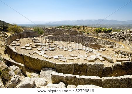 Tomb Of The King, Mycenae