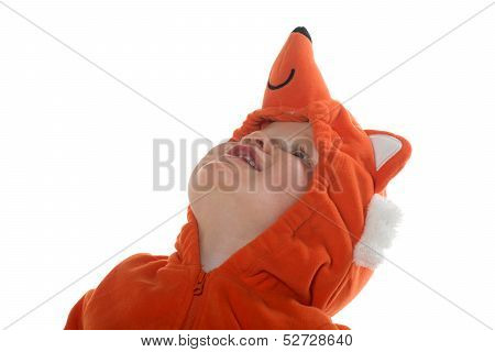 Boy In Fox Costume