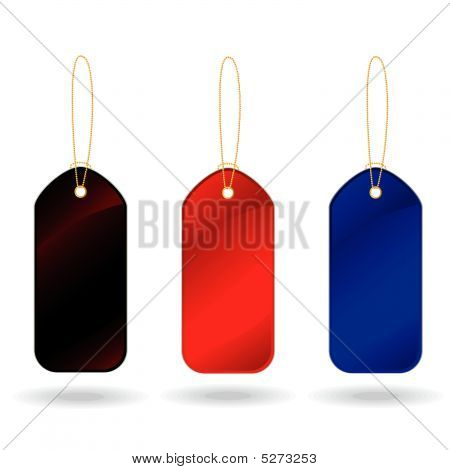 Collection Of  Labels Over White Background. Vector Illustration