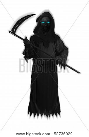 Dark Satan Halloween Black Devil Ghost isolated