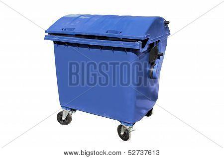 Plastic disposal container