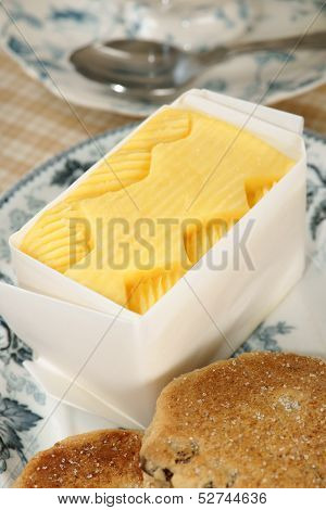 Fresh Hand Churned Butter