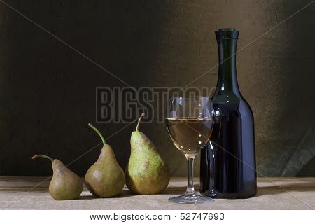 Wine And Pears