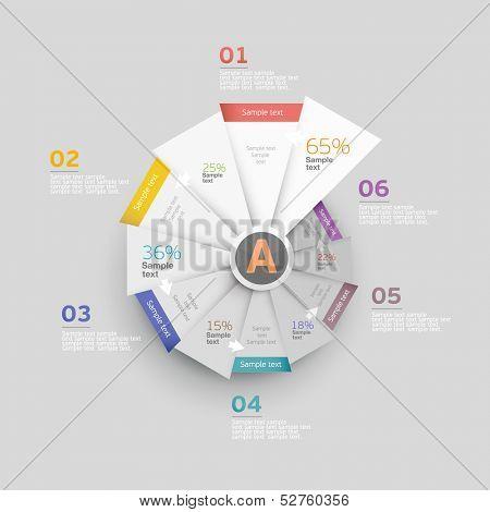 Set of infographics elements.