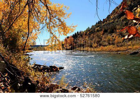 Fall on Animas River...