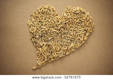 Paddy In Heart Shape
