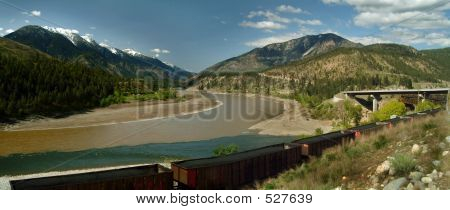 Fraser And Thompson River