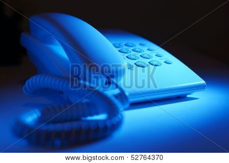Dial Up Telephone Instrument