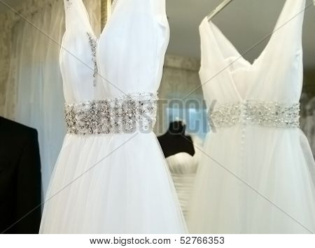 Charming wedding dress for bride