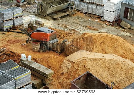Concrete Mixer.