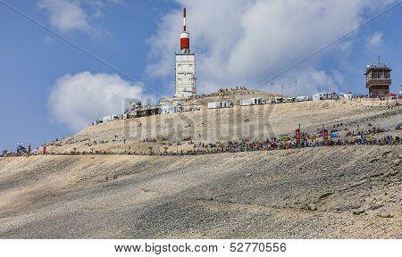 Mont Ventoux- A Cyclist Monument