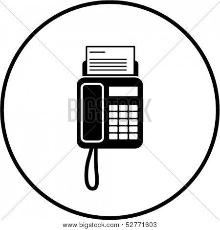 fax machine symbol
