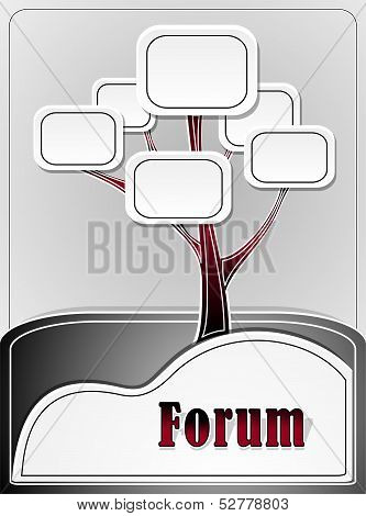 Forum tree or concept information