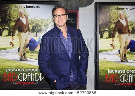 LOS ANGELES - OCT 23: Bob Saget at the Premiere of