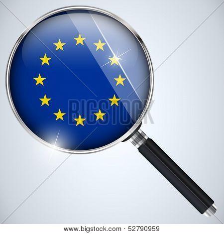 Nsa Usa Government Spy Program Country Europe