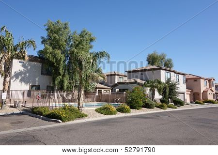 Arizona Residential Streets in Phoenix