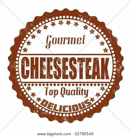 Cheesesteak Stamp