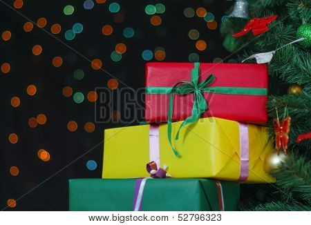 Few Gifts Under Christmas Tree