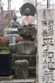 Buddhas At Senso Ji Temple Shrine In Tokyo