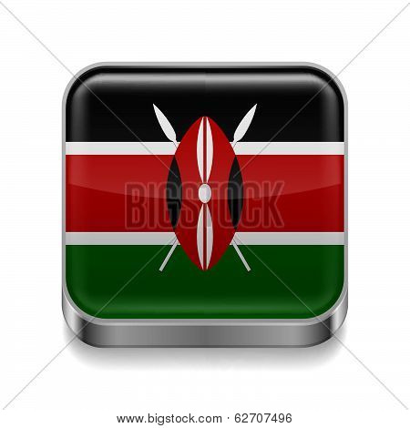 Metal  icon of Kenya