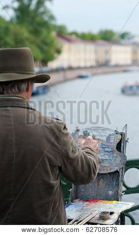 Street Painter, St. Petersburg