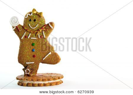 Gingerbread Man Frame