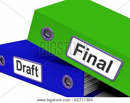 Final Draft Folders Mean Edit And Rewrite Document