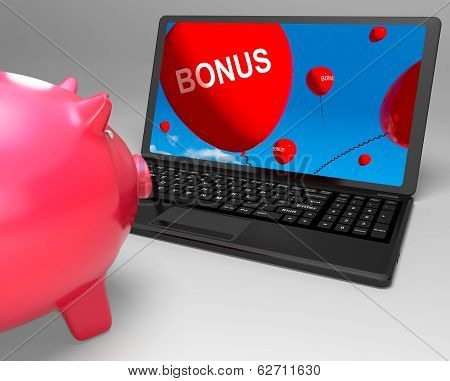 Bonus Laptop Shows Perks Rewards And Extras