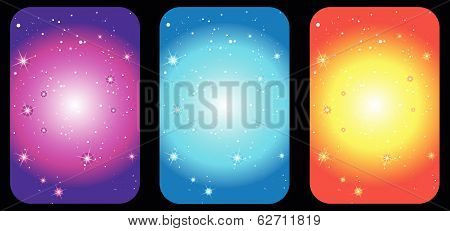 dark Blue Sky galaxy background