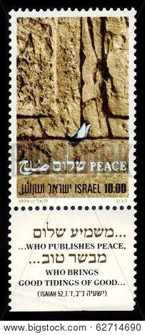 Western Wall In Jerusalem, Symbol Of Peace