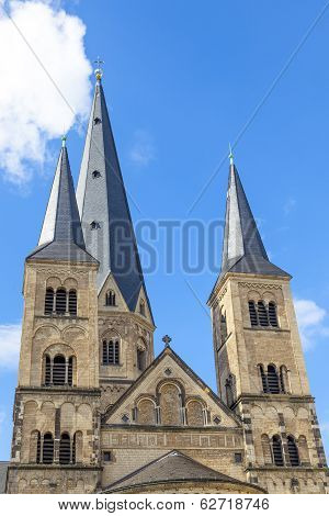 Minster (church) In Bonn, Germany