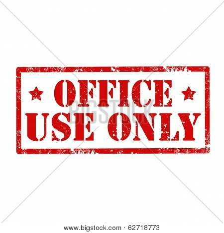Office Use Only-stamp